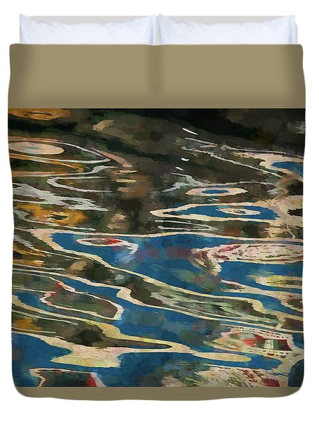 Color Abstraction Lxxv Duvet Cover
