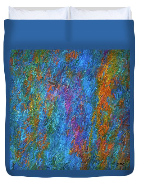 Color Abstraction Xiv Duvet Cover