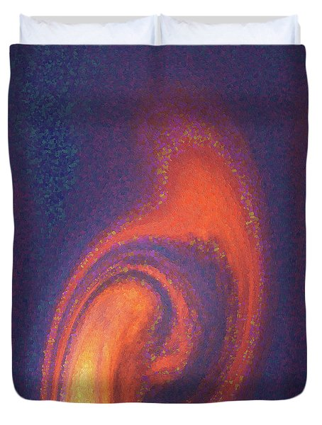 Color Abstraction Xlii Duvet Cover