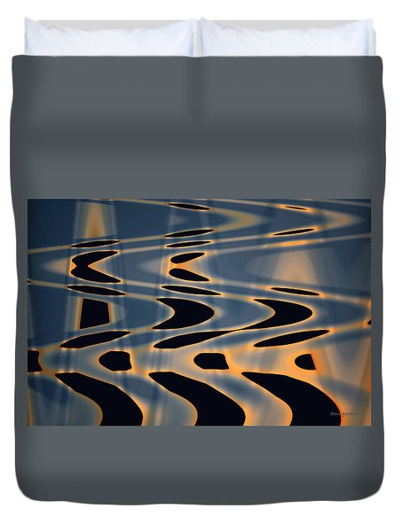 Color Abstraction Xxiv  Duvet Cover