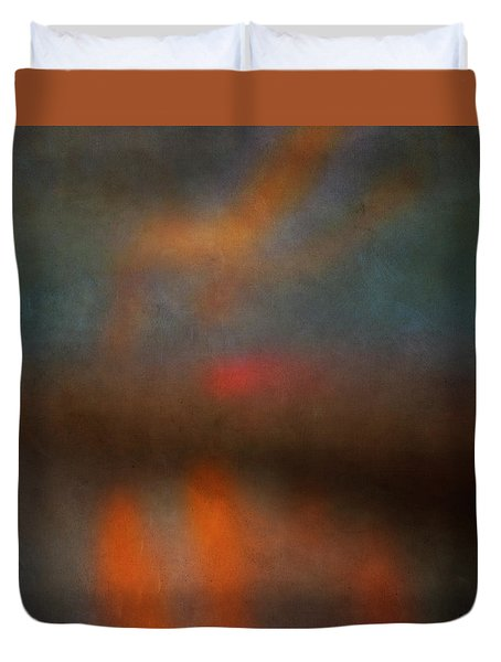 Color Abstraction Xxv Duvet Cover