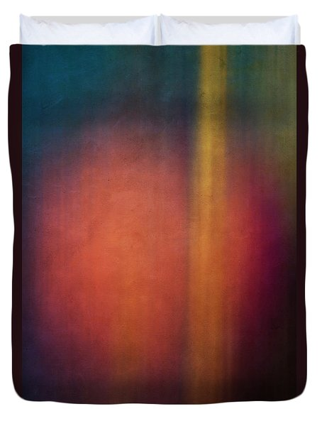 Color Abstraction Xxvii Duvet Cover