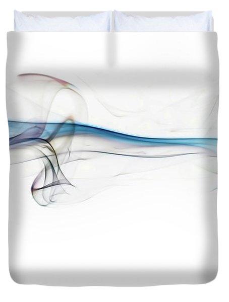 Color And Smoke V Duvet Cover