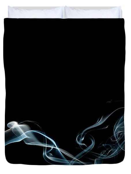 Color And Smoke Vi Duvet Cover