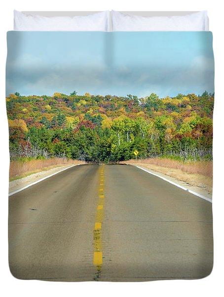 Color At Roads End Duvet Cover