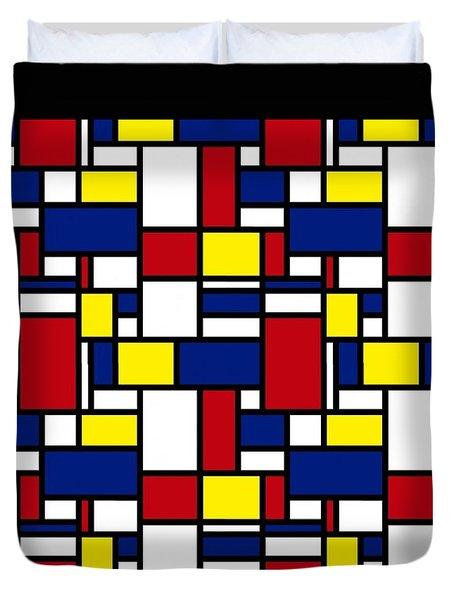 Color Box Duvet Cover