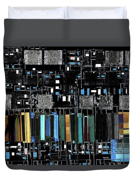 Color Chart Duvet Cover by Don Gradner