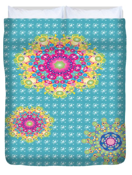 Color Explosion Duvet Cover