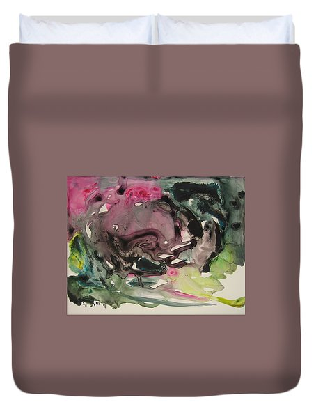 Color Fever 115 Duvet Cover by Seon-Jeong Kim