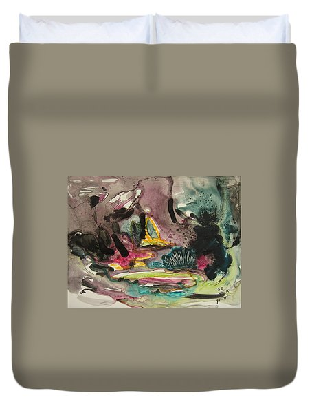 Color Fever 136 Duvet Cover by Seon-Jeong Kim