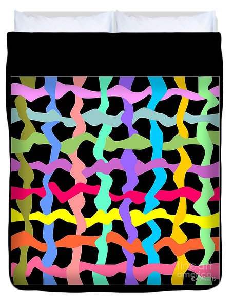 Color Field Theory, No. 3 Duvet Cover