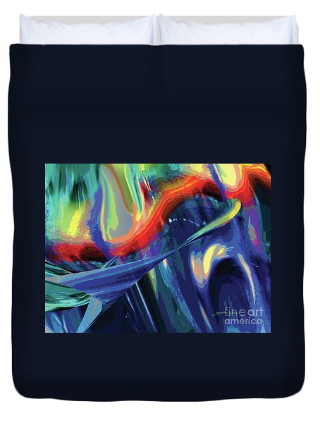 Color Flight Duvet Cover