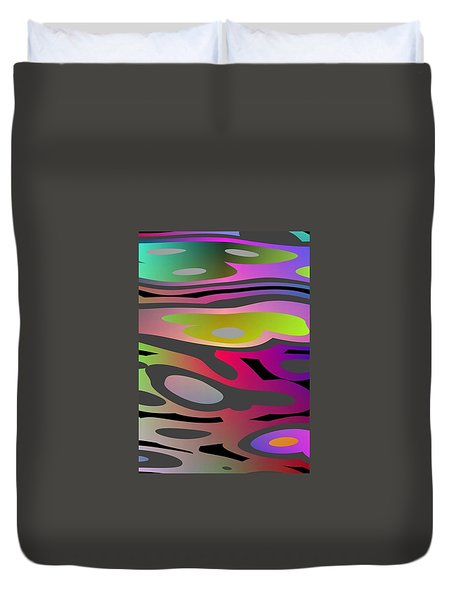 Color Fun 1 Duvet Cover by Jeff Iverson