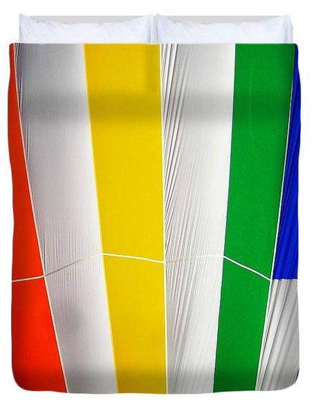 Color In The Air Duvet Cover by Juergen Weiss