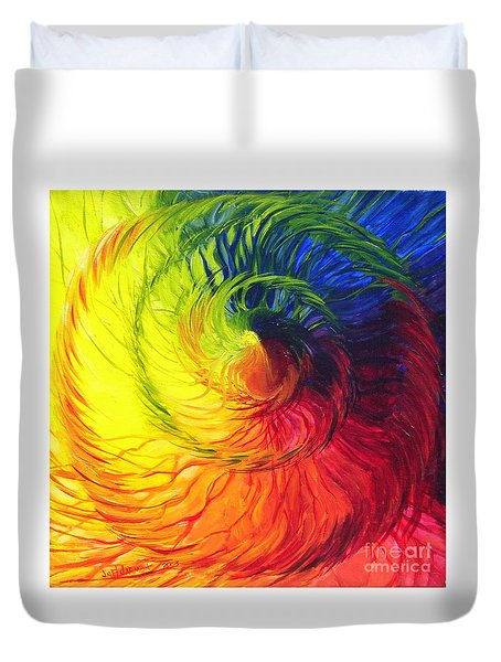 Color Duvet Cover by Jeanette Jarmon
