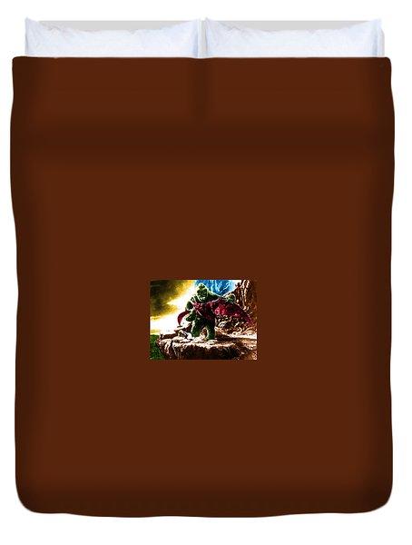 Color King Kong Duvet Cover