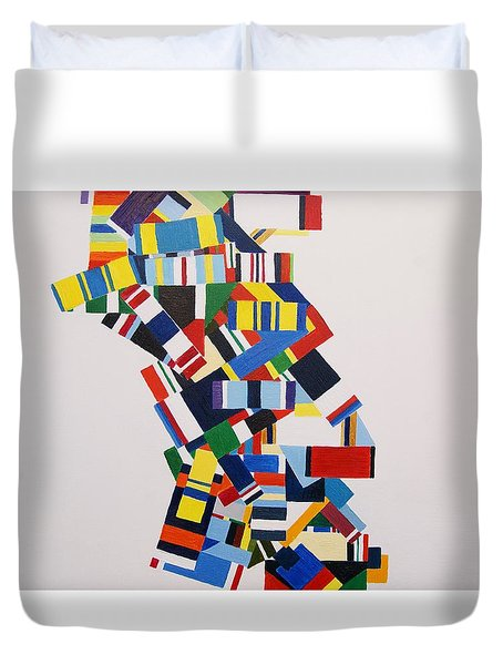 Color Linked To Personality Duvet Cover
