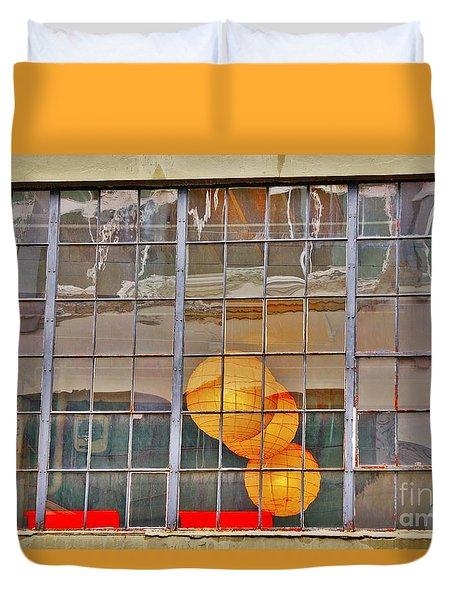 Color Me Golden Duvet Cover