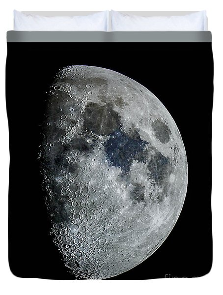 Color Moon Duvet Cover