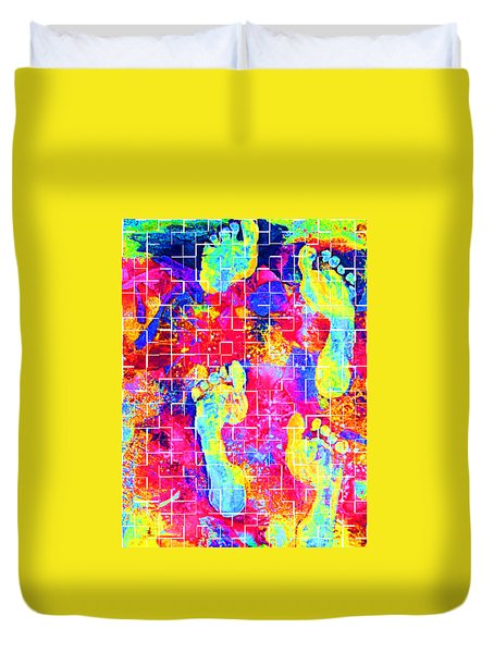 Color My World Duvet Cover