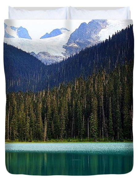 Lower Joffre Lake Duvet Cover
