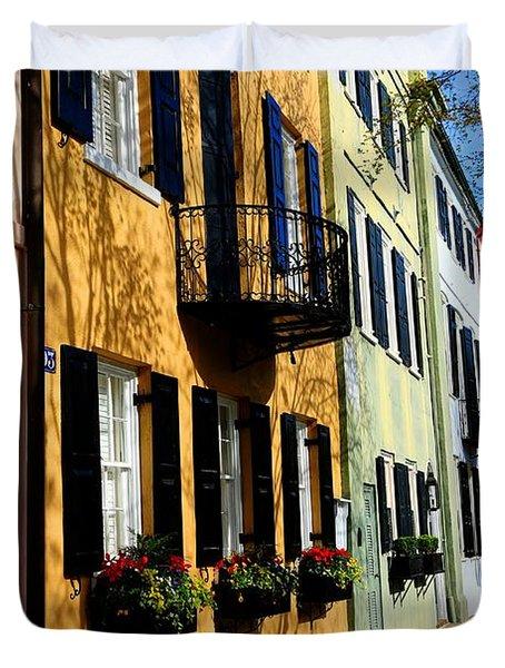 Color Of Charleston Duvet Cover
