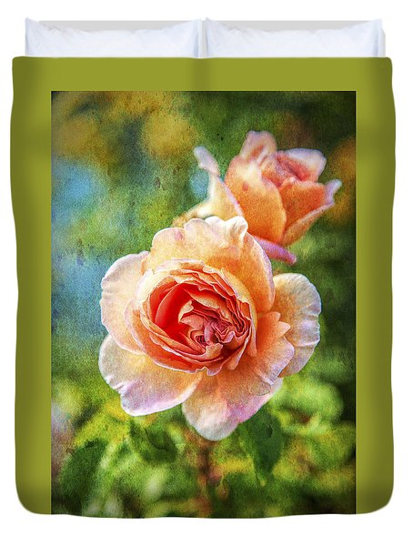 Color Of The Rose Duvet Cover