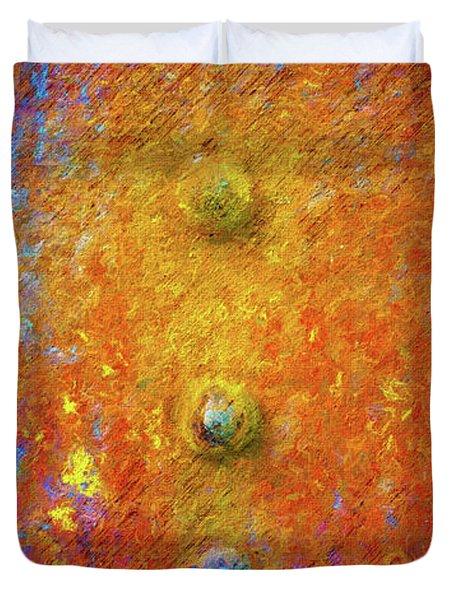 Color Rivets Duvet Cover