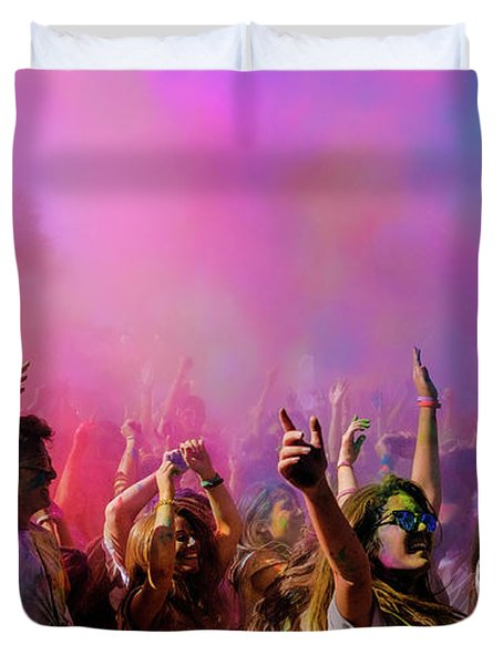 Color Sky Duvet Cover