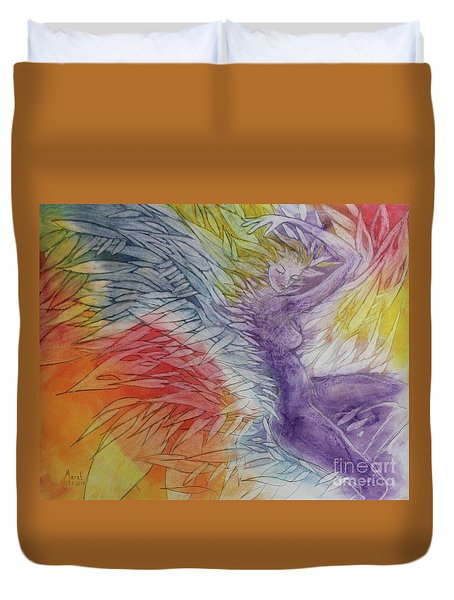 Color Spirit Duvet Cover by Marat Essex