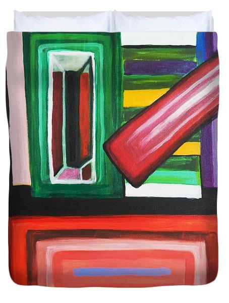 Color Squares Duvet Cover