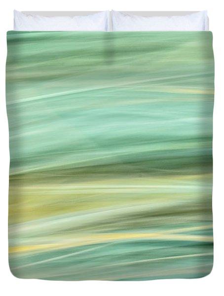 Color Swipe Duvet Cover