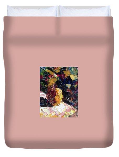 Color Volant Duvet Cover by Roxy Rich