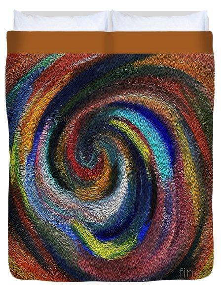 Vortex Of Passion Duvet Cover
