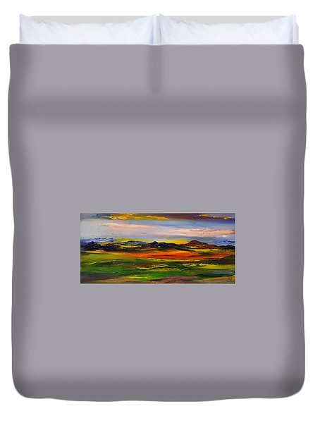 Color Your World    #58 Duvet Cover