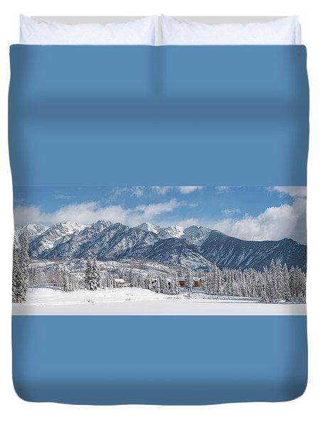 Colorad Winter Wonderland Duvet Cover by Darren White