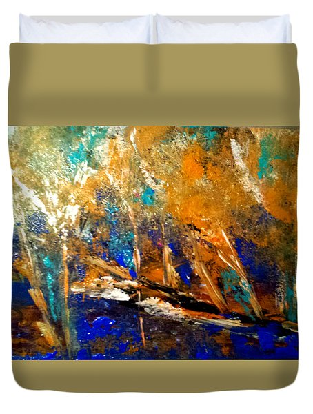 Colorado Aspen Duvet Cover
