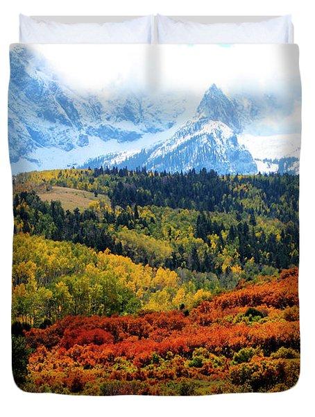 Colorado Autumn 2016 San Juan Mountains  Duvet Cover
