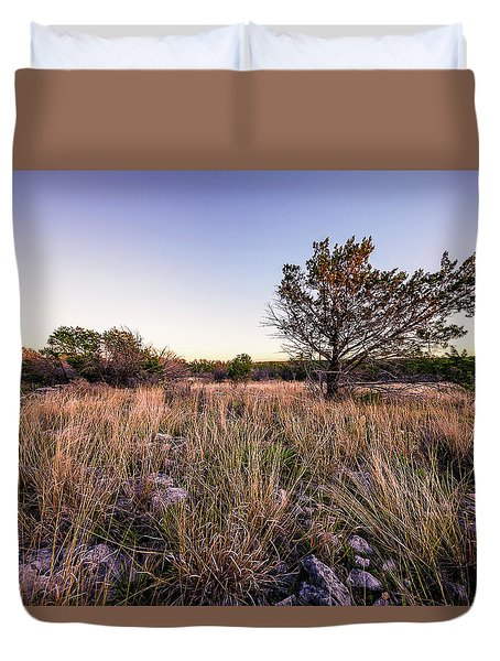 Colorado Bend State Park Gorman Falls Trail #2 Duvet Cover