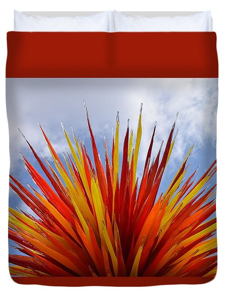 Colorado By Dale Chihuly Duvet Cover