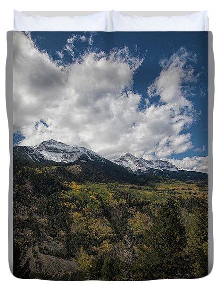 Colorado Colors Duvet Cover