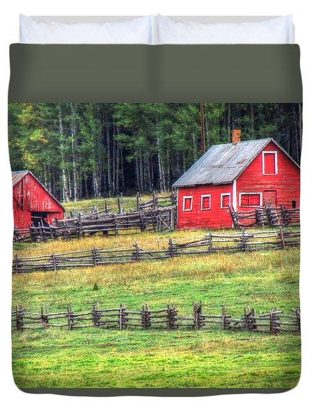 Colorado Countryside  Duvet Cover
