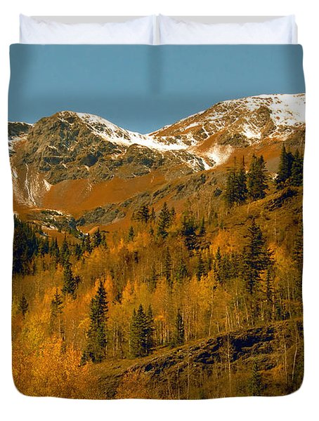 Colorado Duvet Cover by David Lee Thompson