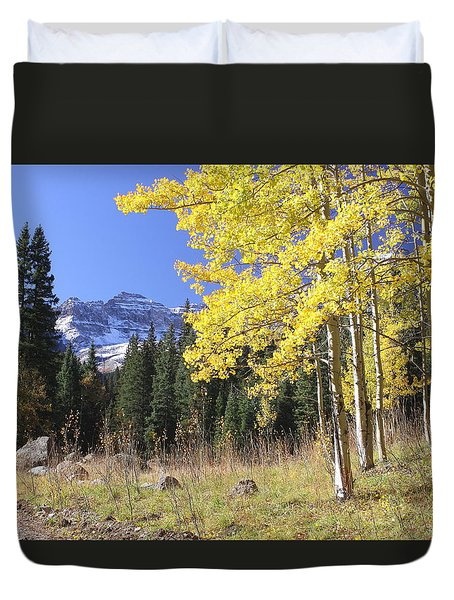Colorado Dreamin' Duvet Cover by Eric Glaser