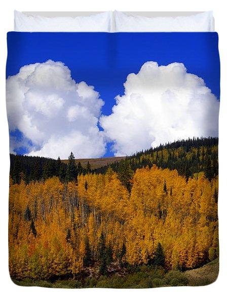 Colorado Fall 2 Duvet Cover by Marty Koch