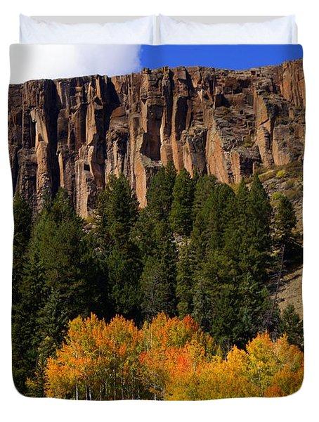 Colorado Fall 4 Duvet Cover by Marty Koch