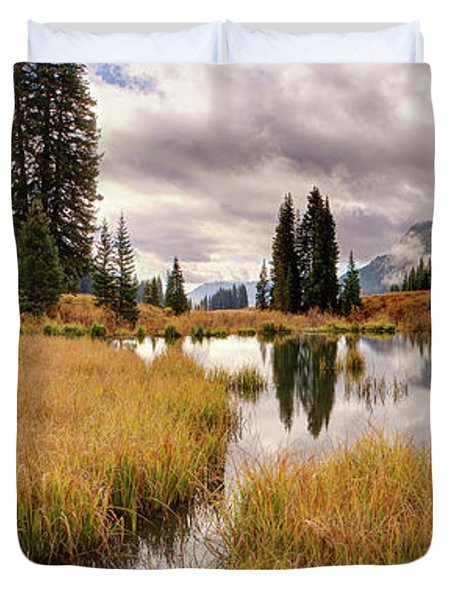 Colorado Fall Colors 3  Duvet Cover