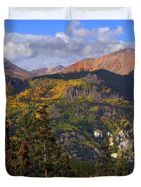 Colorado Fall Duvet Cover by Marty Koch