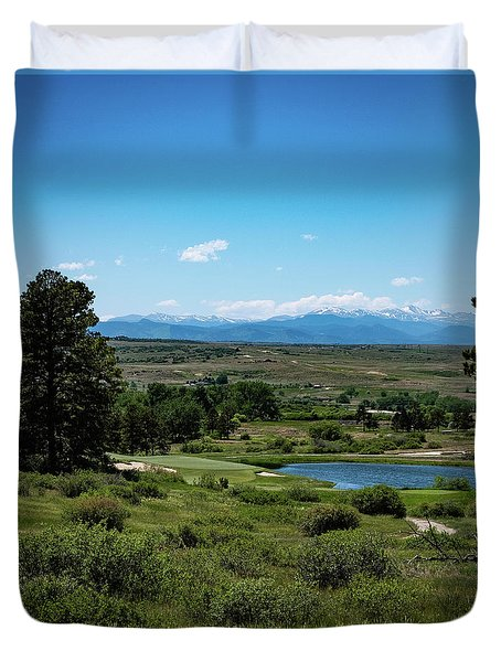 Colorado Golf Club Duvet Cover