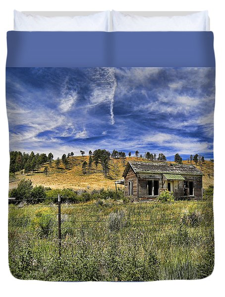 Colorado Homestead Duvet Cover